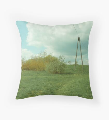 More power to the people Throw Pillow