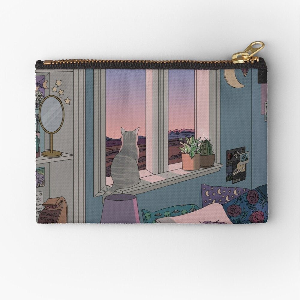 Early Morning Zipper Pouch