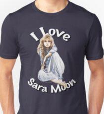 """""""I Love Sara Moon"""" Unisex T-Shirt"""