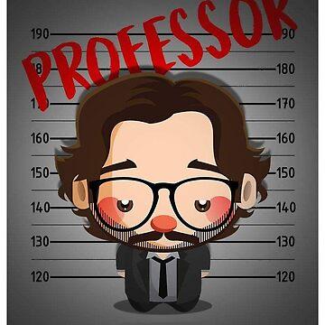 La casa de papel Profesor by Fabiovieira