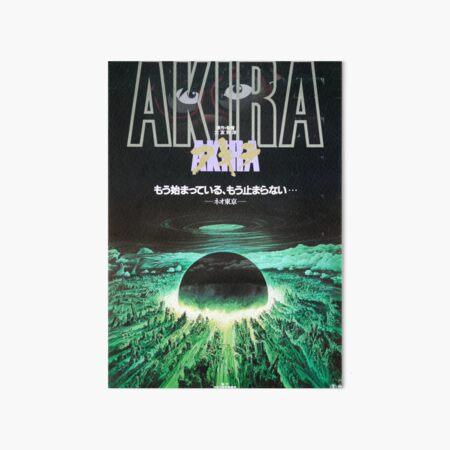 Akira B1 Affiche de film japonaise Impression rigide