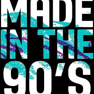Made in the 90's 1990 Funny Kids Vintage Retro 30th Birthday by ccheshiredesign