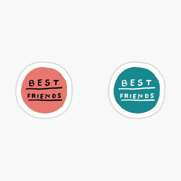 best friends pack Sticker