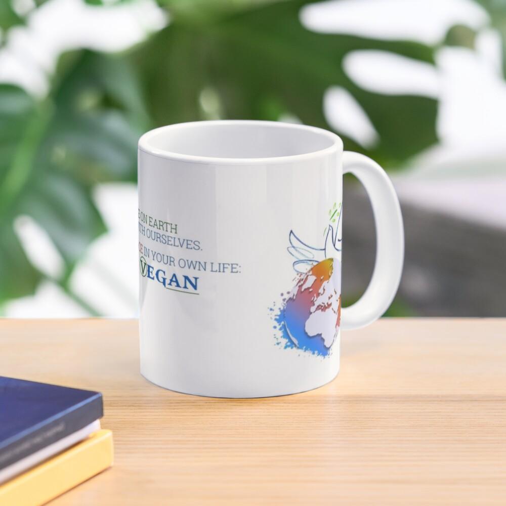Live Vegan Ⓥ Mug