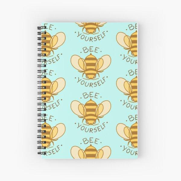 Bee Yourself Spiral Notebook