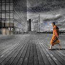 Monk in Paris by laurentlesax