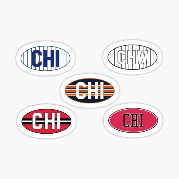 Chicago Sports Pack  Sticker