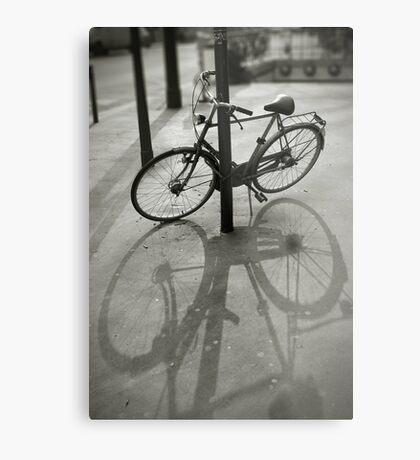 Bicycle in Paris Metal Print