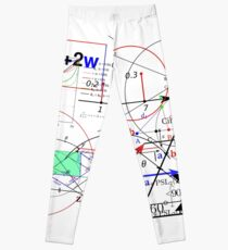 Funny Math Equations Geek Man Shirt Artwork Humor Meme Leggings