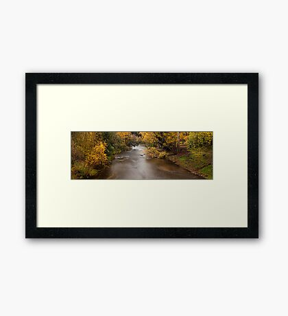 Ovens river - Bright Framed Print