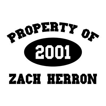 Property of Zach Herron by amandamedeiros