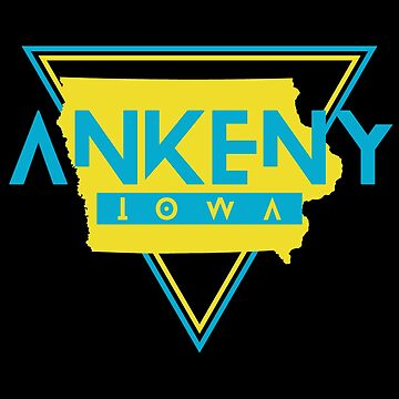 Ankeny Iowa Souvenirs IA Retro by fuller-factory