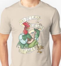 Camiseta unisex Alan A Dale - Oo de Lally Golly ¡Qué día! Lista Bard