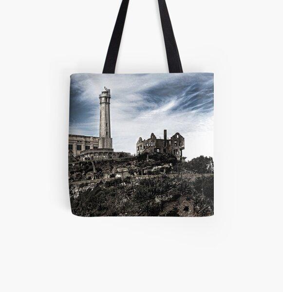 Alcatraz Island All Over Print Tote Bag