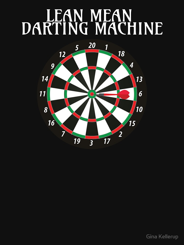 Darts Darting Machine Funny Darts Lover by KanigMarketplac