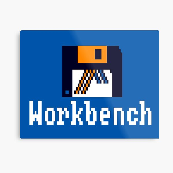 Amiga Workbench 1.3 Metal Print