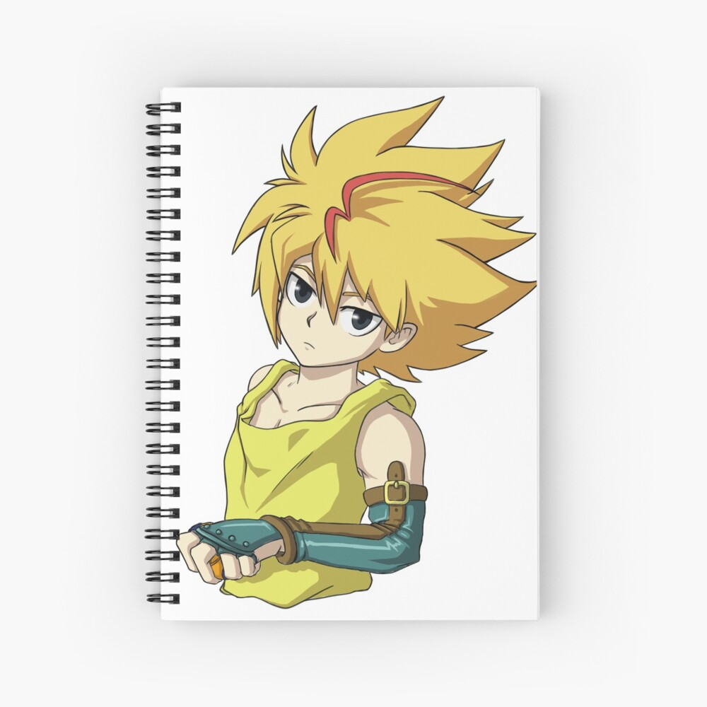 Free De La Hoya From Beyblade Burst Spiral Notebook By Kaw Dev Redbubble