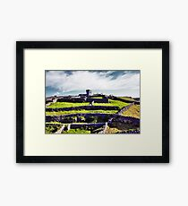 The fort on top of the hill Framed Print