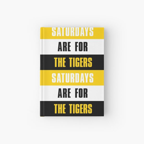 Saturdays are for The Tigers, DePauw University Hardcover Journal