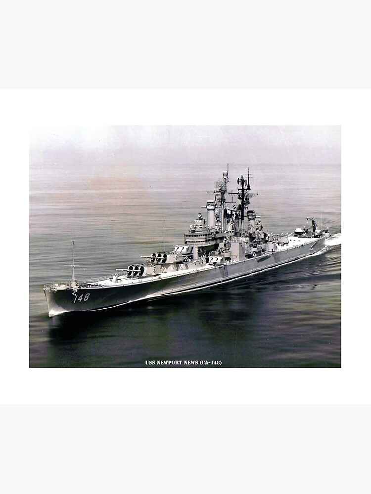 USS NEWPORT NEWS (CA-148) SHIP'S STORE by militarygifts