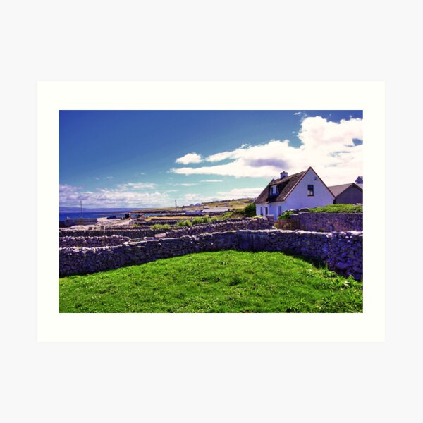 A day in Inis Oirr! Art Print