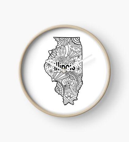 Illinois Zeichnung Uhr