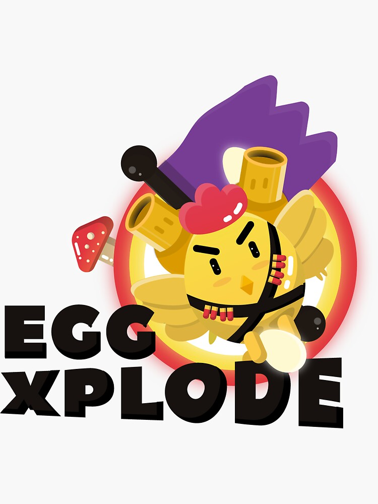 Eggxplode! by crevasseart