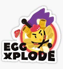 Eggxplode! Sticker