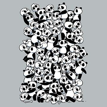 Dia de los Muertos Panda Party de tobiasfonseca