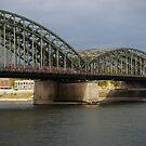 Hohenzollern bridge by Marjolein Katsma