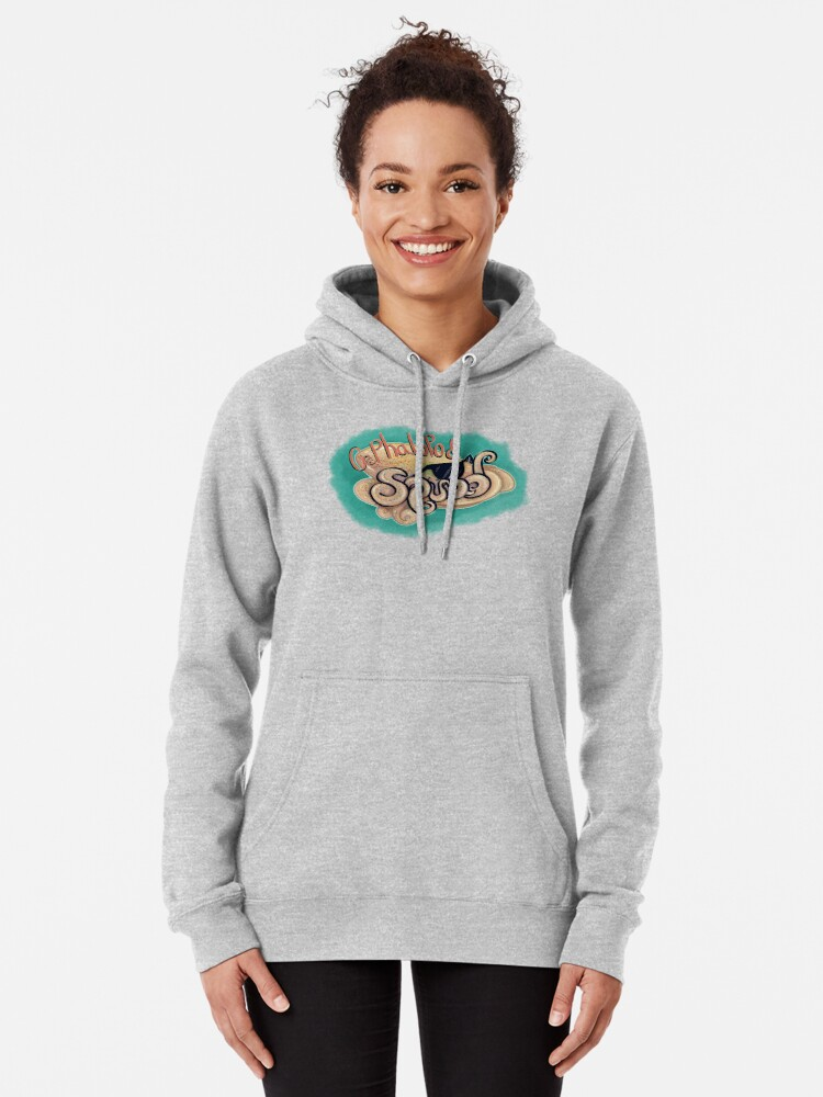 Alternate view of Cephalopod Squad Pullover Hoodie