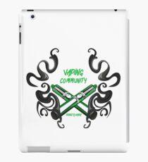 Vaping Vape Vape iPad Case/Skin