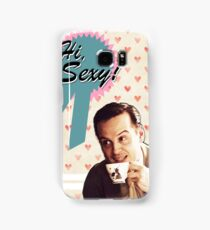 Moriarty Valentine's Day Card Samsung Galaxy Case/Skin