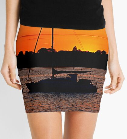 A Little Piece Of Heaven Mini Skirt