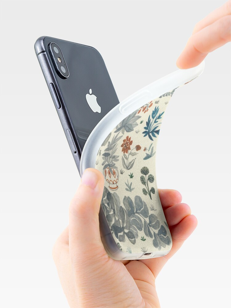 Alternate view of Jardin iPhone Case & Cover
