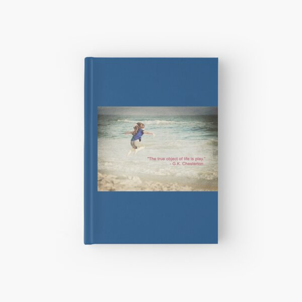 The Object of Life (quote) Hardcover Journal