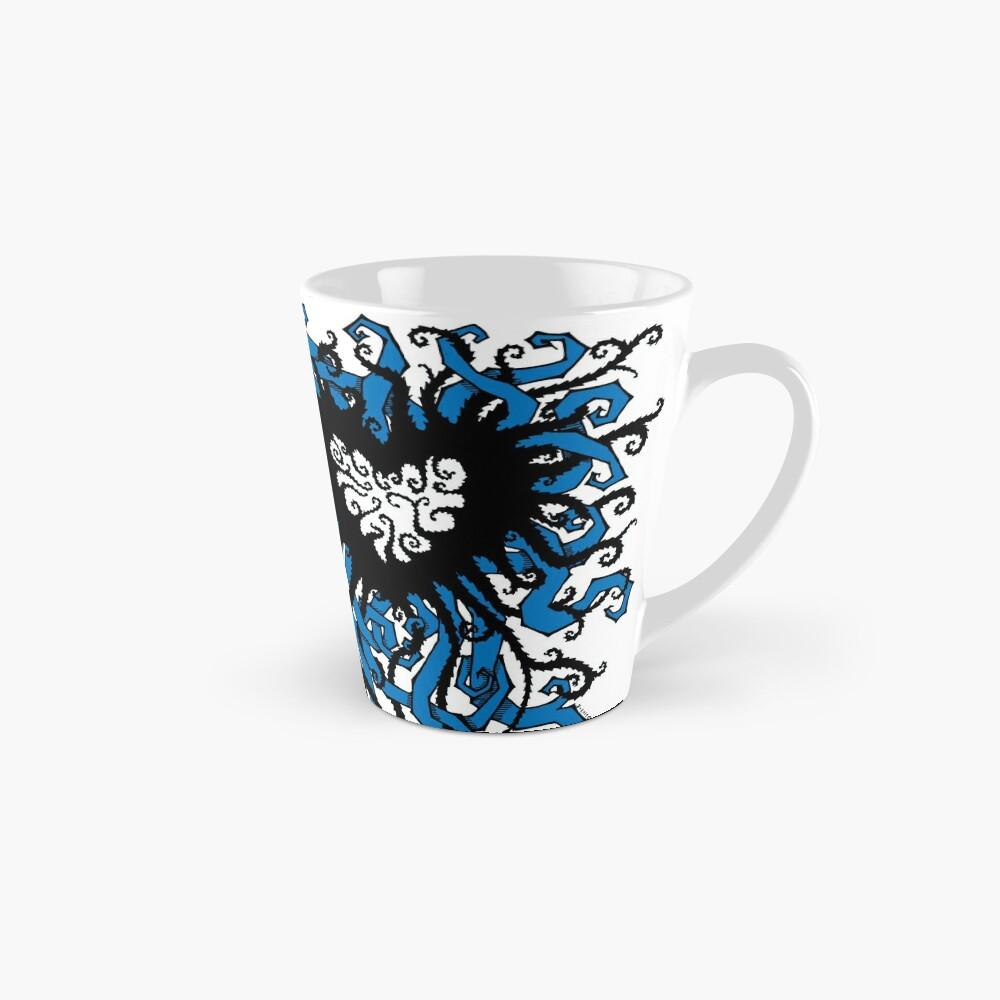 Tangled Heart in Blue Tall Mug
