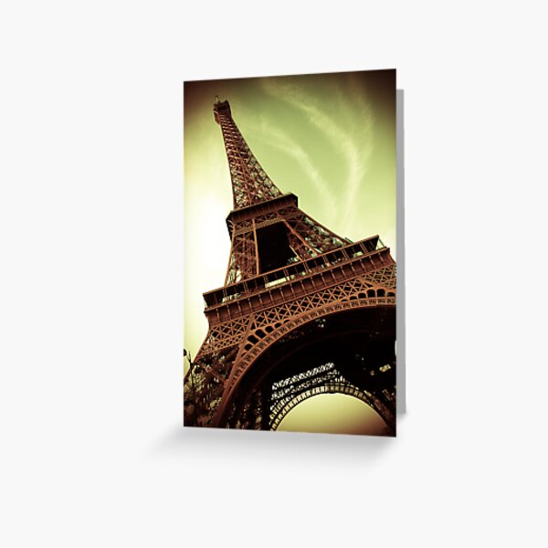 An Awesome Tower Greeting Card