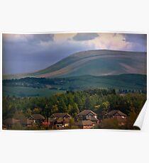 Lovely Lancashire landscape Poster