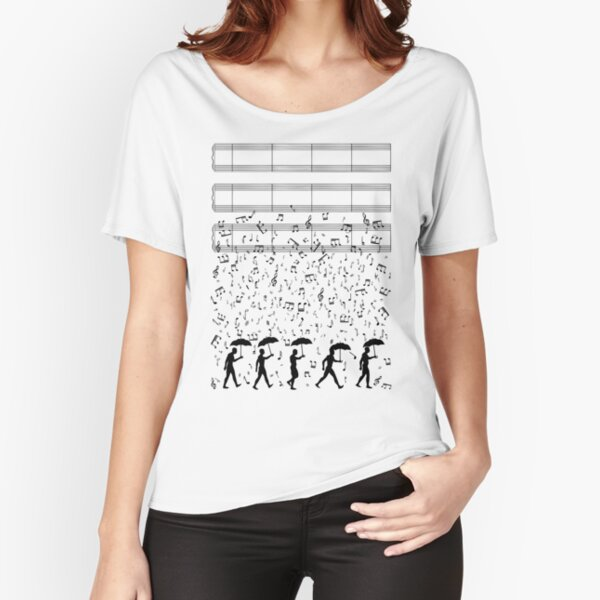 Singing in the Raaaain Relaxed Fit T-Shirt