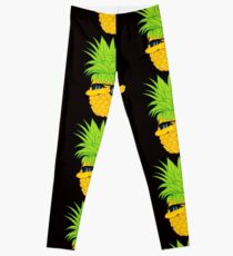 Swagger Dab Sunglasses Fruit Cool Pineapple Graphic T-shirt Summe Holidays Vacation Swag Dope Design Leggings