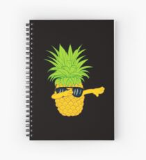 Swagger Dab Sunglasses Fruit Cool Pineapple Graphic T-shirt Summe Holidays Vacation Swag Dope Design Spiral Notebook