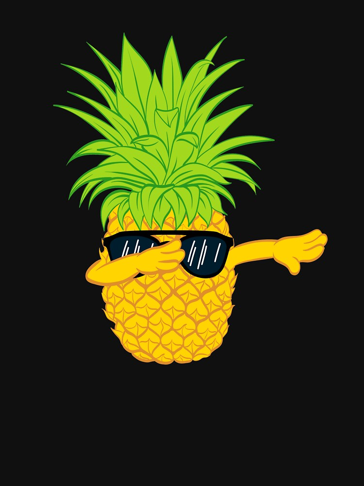 Swagger Dab Sunglasses Fruit Cool Pineapple Graphic T-shirt Summe Holidays Vacation Swag Dope Design by Customdesign200