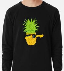 Swagger Dab Sunglasses Fruit Cool Pineapple Graphic T-shirt Summe Holidays Vacation Swag Dope Design Lightweight Sweatshirt