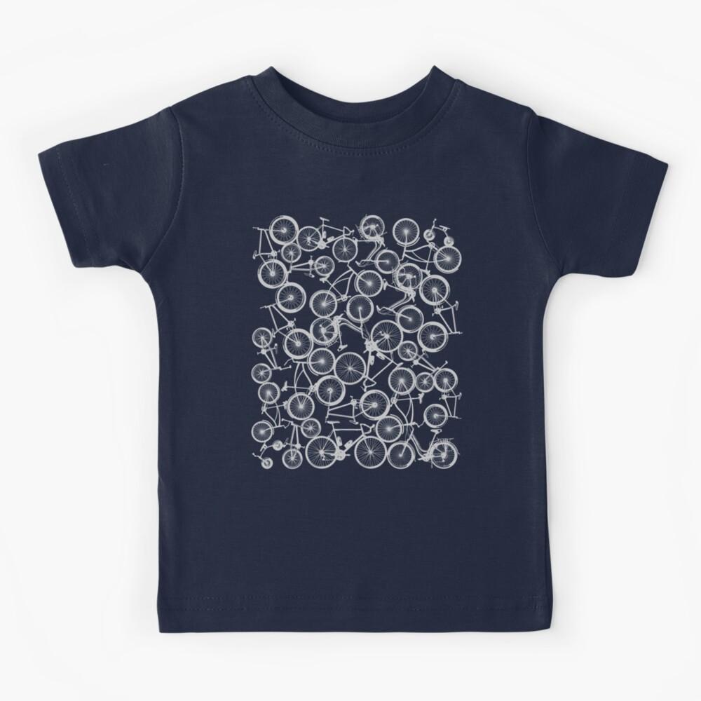 Pile of Grey Bicycles Kids T-Shirt