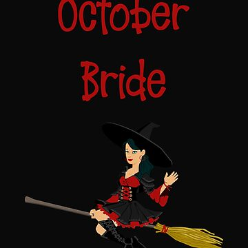 October Bride Wedding Anniversary by 64thMixUp