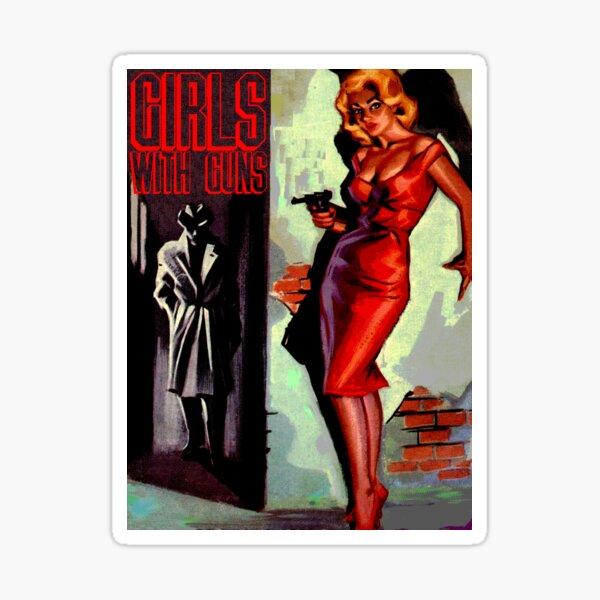 Girls with Guns II Sticker