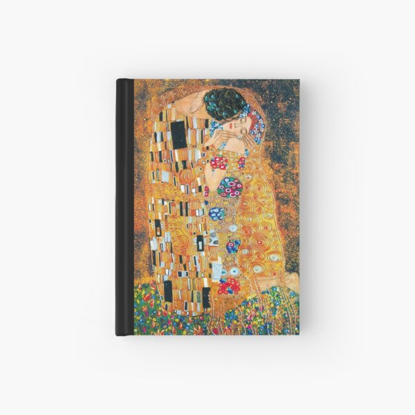 Gustav Klimt - The kiss  Hardcover Journal