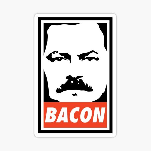 BACON (Colour) Sticker
