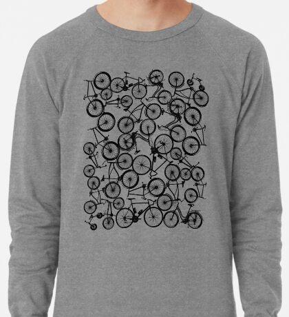 Pile of Black Bicycles Lightweight Sweatshirt
